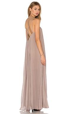 Isadona Maxi Dress in Hazelnut