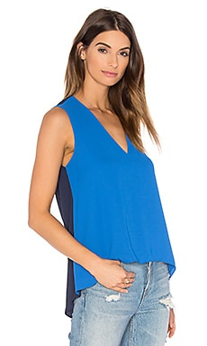 Eliza Tank in Larkspur & Blue Combo