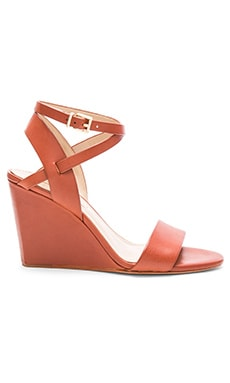 Lennox Wedge in Cuoio