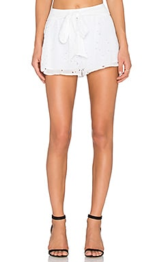 Dusk to Dawn Short in Ivory