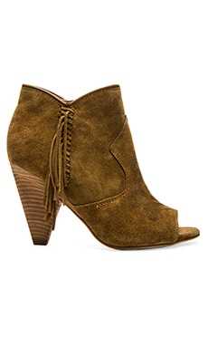 Fume Bootie in Camel