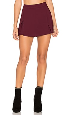 Mini Skort in Brulee