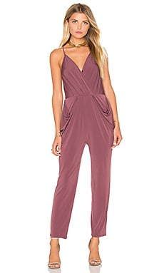 Skinny Jumpsuit in Dusty Eggplant