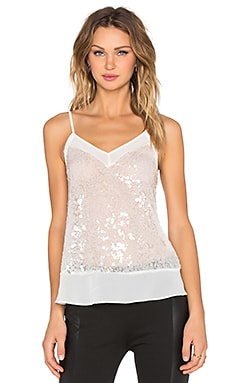 Embellished Cami in Ecru