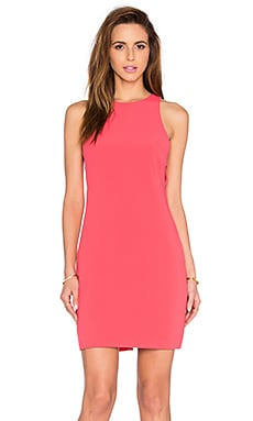 Kate Cut Out Dress in Coral