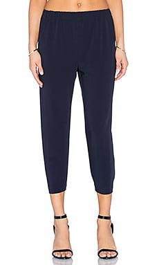 Lily Jogger Pant in Navy