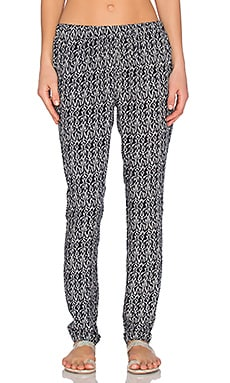 Printed Knit Pant in Print