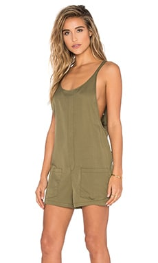 Gracie Romper in Olive