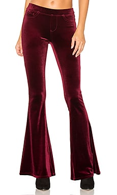 Flare in Burgundy Lush