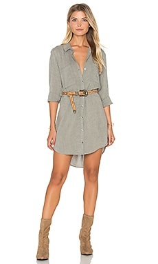 Hipster Dress in Olive Shadow