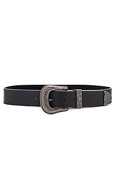 Frank Hip Belt in Black & Gunmetal