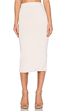 x REVOLVE Exclusive Midi Skirt in Putty