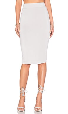 Pencil Skirt in Mink