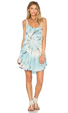 Babydoll Dress in Ocean Dream