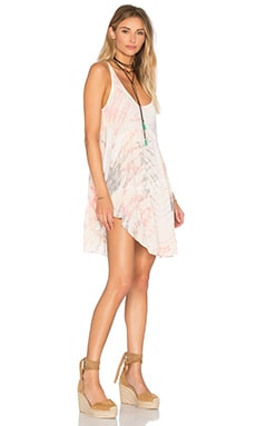 Babydoll Tank Dress in Spirit Reef