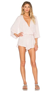 Wild & Free Romper in Blush Waters