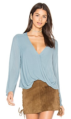 Hayley Blouse in Blue Beauty