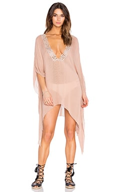 Santorini Caftan in Sandy Brown