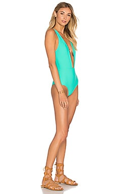 x REVOLVE x A Bikini A Day Leila One Piece in Mint