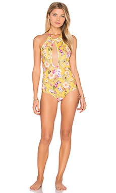 Golden One Piece in Golden Tropic