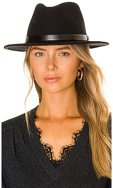 Messer Fedora in Black & Black