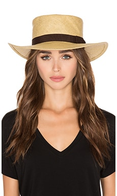 Adriana Hat in Tan