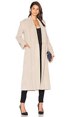 Car Coat in Beige