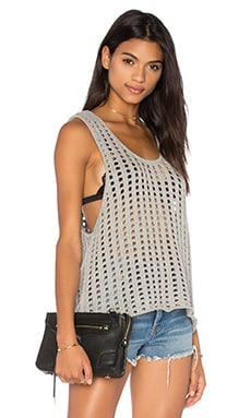 Holey Tank in Grey