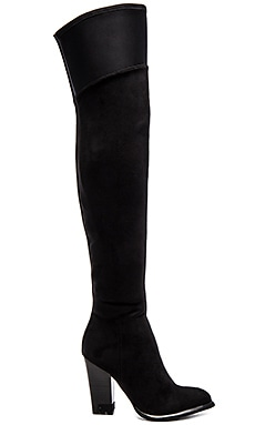 Jeans Charli Boot in Black Suede