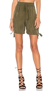 Dance Dance Dance Cargo Short in Olive