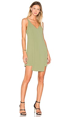 About Us Dress in Olive