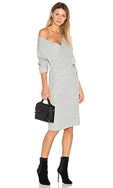 Make A Move Knit Dress in Grey Marle