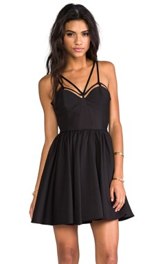 District Dress in Black