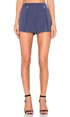 Disposition Short in Navy Stripe