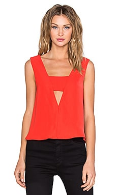 Come Apart Reversible Top in Morange