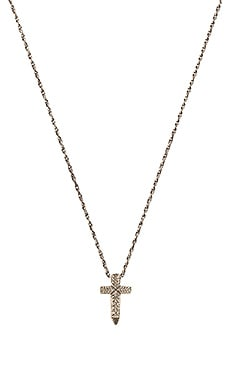 x Herman Cross Necklace in Sterling Silver