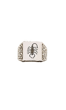 x Herman Scorpion Ring in Sterling Silver