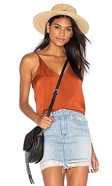 Bowery Cami in Rust