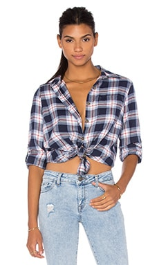 San Diego Top in Plaid