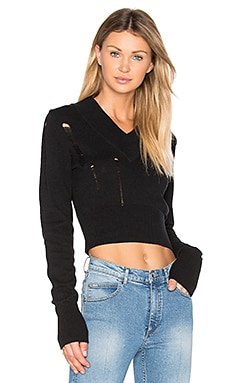 Ally Knit Sweater in Black