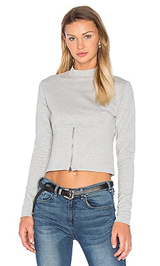 Vote Sweatshirt in Grey Melange