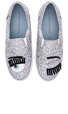 Flirting Slip-On Sneaker in Silver