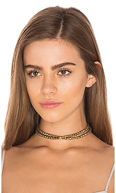 Ethiopian Stacked Choker in Gold