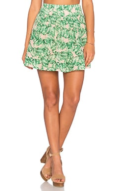 Country Club Babe Mini Skirt in Coco Cabana