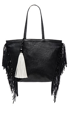 Weston Tote Bag in Black & White