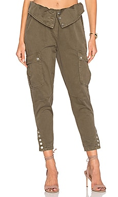 Noah Cargo Pant in Olive