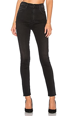 Chrissy Uber High Rise Skinny in Midnight City