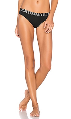 Seamless Logo Bikini in Black