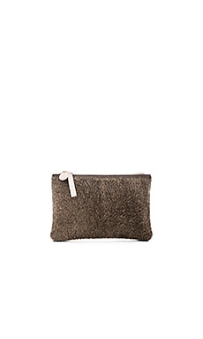 Wallet Supreme Clutch in Wolf Hair On