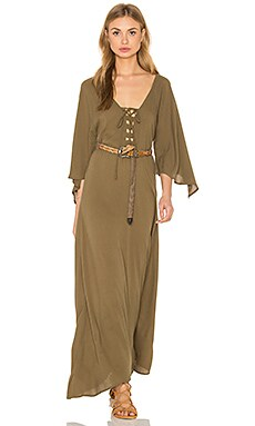 Alexandria Dress in Olive